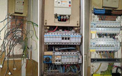 Mise aux normes d'un tableau électrique